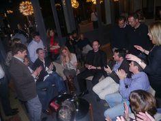 Aniversario adulto celebrado en el restaurante El principal. Magia de cerca entre los invitados y número final de salón. www.tumago.com
