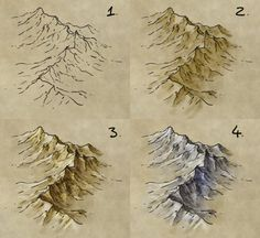 How to draw mountains on Fantasy Maps, by fantasticmaps.com