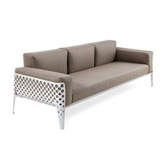 POIS SOFA - Designer Sofas from Varaschin ✓ all information ✓ high-resolution images ✓ CADs ✓ catalogues ✓ contact information ✓ find your. Contemporary Outdoor Furniture, Outdoor Furniture Design, Sofa Design, Outdoor Armchair, Lounge Chair, Three Seater Sofa, Sofa Frame, Upholstered Arm Chair, Restaurant Furniture