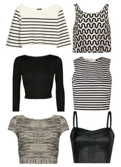 Crop Top Inspired Outfits - Cropped Top Outfit Ideas