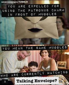 Right!? The injustice of it all... #harrypotter
