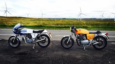 A memorable run out over the moors with my pal on his #ducati900ss .  I regret that we were both almost flat out when we passed a poor cyclist. I think I sucked his helmet off.  That didn't sound right did it.........but the sound he must have heard woulda been incredible !!!!!! #ducati #900ss #jota #laverdajota #laverda