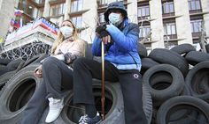 Ukraine crisis escalates as pro-Russia activists declare independence in Donetsk