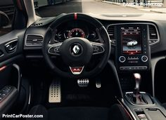 Previously acclaimed on Megane III R., the braking system has been improved, offering drivers greater power, endurance and therefore confidence […] Frankfurt, Renault Megane Rs Trophy, Renault Sport, Automobile, Suv Cars, Car Posters, Poster Poster, Volvo, Cars And Motorcycles