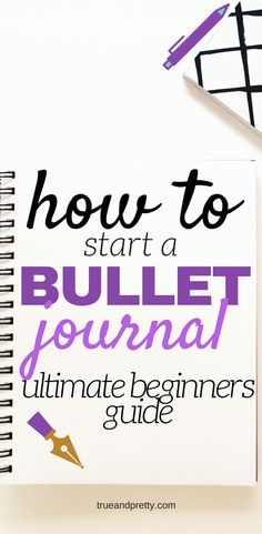 How To Start A Bullet Journal.Your bullet journal can help you create lists for life, food or even blogging.This easy step-by-step guide will give you a ton of bullet journal ideas! how to start a bullet journal ideas. #bujo