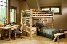 Bunk beds for the boys rooms!
