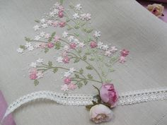 beautiful and simple embroidery - love it