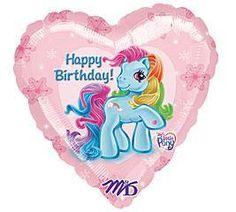 "18"" MY LITTLE PONY RAINBOW DASH BIRTHDAY PARTY BALLOON"