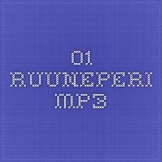 01_Ruuneperi.mp3 Preschool Ideas, Runes