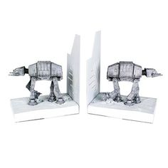Star Wars AT-AT Mini Bookends Statue - Gentle Giant - Star Wars - Statues at Entertainment Earth