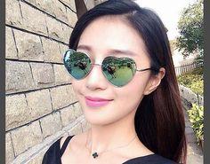 Óculos de sol da moda mulheres coração óculos de sol óculos de sol de vidro anti uv 400 das mulheres do vintage óculos sunglases para atacado freeship em Óculos Escuros de Roupas e Acessórios Femininos no AliExpress.com   Alibaba Group