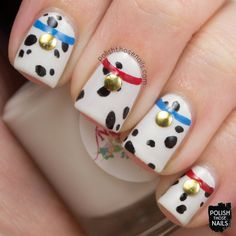 Polish Those Nails // Twinsie Tuesday - Inspired by your Childhood (101 Dalmatians)