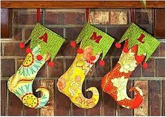 Elf stocking pattern - I could dress this up Christmas Makes, Merry Little Christmas, Christmas Elf, Homemade Christmas, Diy Christmas Gifts, Christmas Projects, Christmas Ornaments, Christmas Decorations, Christmas Stocking Pattern