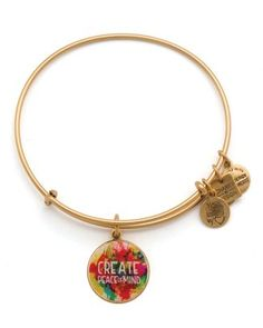 Alex and Ani Peace of Mind Expandable Wire Bangle, Charity by Design Collection  Bloomingdale's