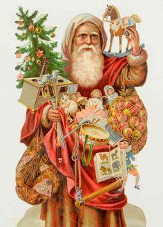 Antique Christmas, Christmas Items, Christmas Images, Christmas Art, Winter Christmas, Christmas Decorations, Pregnancy Art, Christmas Graphics, Saint Nicholas