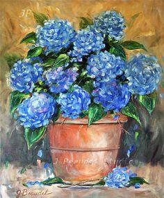 Fine Art Giclee Print of Original oil painting by JBeaudetStudios