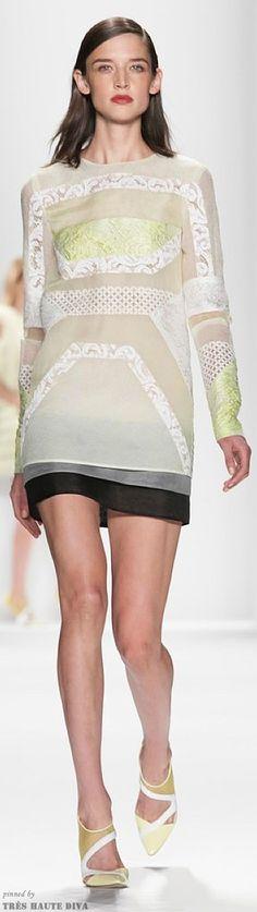 #NYFW J.Mendel Spring 2014 RTW http://www.nytimes.com/fashion