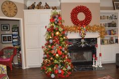 Christmas Sparkle Christmas Tree Theme - decorate for Christmas in Red and Green with POPs of Black and White!