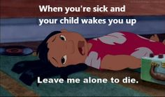 ''Leave me alone to die'' - Lilo & Stitch. Lilo And Stitch Quotes, Lilo Y Stitch, Humor Disney, Disney Quotes, Funny Disney, We Heart It, Happy Heart, Movies And Series, Tv Series