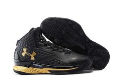 new product 18a22 24ff5 Buy Under Armour Curry One Custom Black Gold Sneaker Super Deals from  Reliable Under Armour Curry One Custom Black Gold Sneaker Super Deals  suppliers.