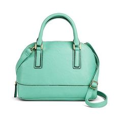 Merona Women's  Dome Satchel Handbag - Meteor Green ($35) ❤ liked on Polyvore featuring bags, handbags, meteor green, merona, evening purse, evening bags, satchel purse and evening handbags