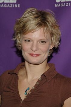 Mature Women Hairstyles, Short Hairstyles For Thick Hair, Hairstyles For Round Faces, Celebrity Hairstyles, Trendy Hairstyles, Wedding Hairstyles, Martha Plimpton, Messy Short Hair, Short Hair Styles For Round Faces