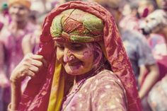 Strong Women While capturing the celebrations at temple of Nandgaon I came across this amazing woman who in my view enjoyed holi to the true essence of it. She danced, splashed holi and also used her walking stick to land so soft knocks at the #people gathered as a part of tradition.Later I was told by a friend that she is the most respected woman in Nandgaon holi and last year she started the Holi celebrations. She has taken Lord Krishna as her own son and dedicated her life to it. I admire…