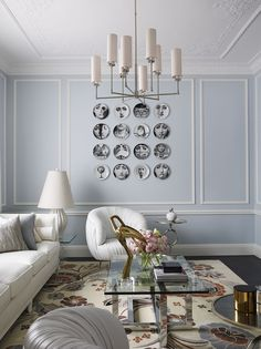 Classical Interior designed by Greg Natale
