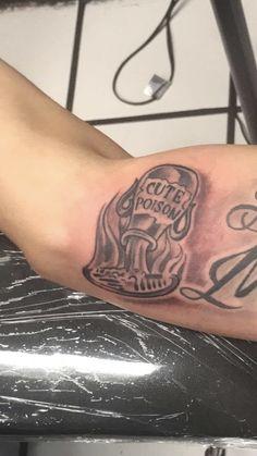 Prison Break Cute Poison tattoo