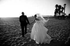 Jessica & Mark - Santa Monica, California  http://caratsandcake.com/thegordons