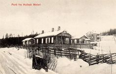Hulbak meieri, Simostranda Åmot kommune i Modum. Meiridrift 1927-1963