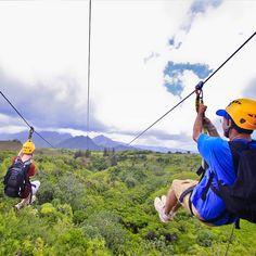 #Skyline Zipline, #Kaanapali, Haleakala Maui #ZiplineTours http://mauiticketsforless.com/maui-zipline/54/skyline-zipline-maui.html