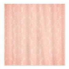 Pretty Pink Damask Shower Curtain