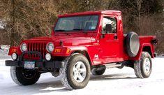 Jeep CJ pickup conversion