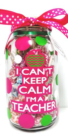 Finding fun and unusual DIY gifts can be difficult. Read more here for some fun ideas to help inspire you to create gifts for the loved ones in your life. Teacher Treats, Teacher Appreciation Gifts, School Treats, Mason Jar Gifts, Mason Jar Diy, Diy Jars, Teacher Christmas Gifts, Valentine Gifts, Personalized Teacher Gifts