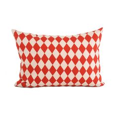 HARLEQUIN ❖ Red Pillow