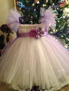 Purple Princess tutu dress