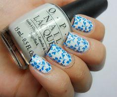 Antique Blue & White China - http://nailstoriesuk.blogspot.co.uk/2012/06/antique-blue-white-china.html#