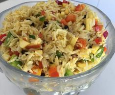 BBQ Favourite: Curried Rice Salad by Leanne Sloss on www.recipecommunity.com.au