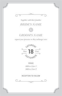 Wedding Invitations, Wedding Invitations Designs, Custom Wedding Invitations Page 8 | Vistaprint