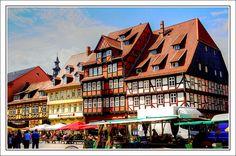 Quedlinburg, Germany.