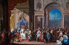 Johann Georg Platzer. Austria,  The death of Cleopatra,  18th century