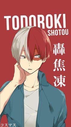 Todoroki Shotou ~ Korigengi | Wallpaper Anime