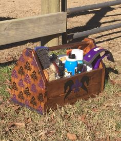 You can also choose items and have a barn or equestrian team theme. Comfortably Stabled is here to help with just that! They offer custom painted grooming totes, stall signs, brushes, whip holders, and more. Stall Signs, Team Theme, Equestrian Gifts, Horse Gear, Craft Day, Stables, Custom Paint, Velvet, Horses