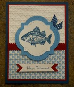 By the Tide Sample. Great masculine card!