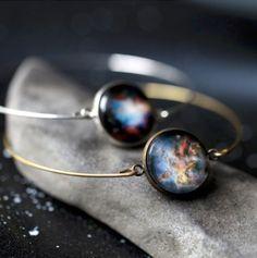 Galaxy bangles
