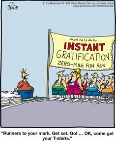 The Far Side We've ruined at least one generation making everyone a winner to not hurt their feelings. Their are winners and losers. Life is not fair. Best Funny Jokes, Haha Funny, Funny Quotes, Funny Memes, Hilarious, Lol, Funny Stuff, Funny Things, Asshole Quotes
