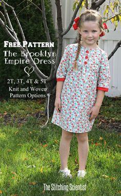 free pattern for a very sweet little dress!