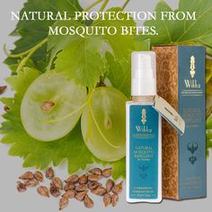 Natural Mosquito Repellant, Natural Skin Care, Aromatherapy Products, Organic, Bottle, Skincare, Natural Mosquito Spray, Flask, Skin Care