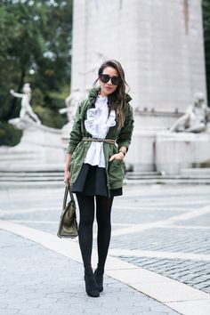 awesome Military Ruffles :: Field jacket & Soft ruffles
